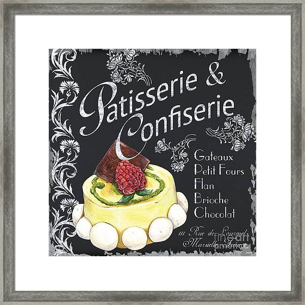 Patisserie And Confiserie Framed Print
