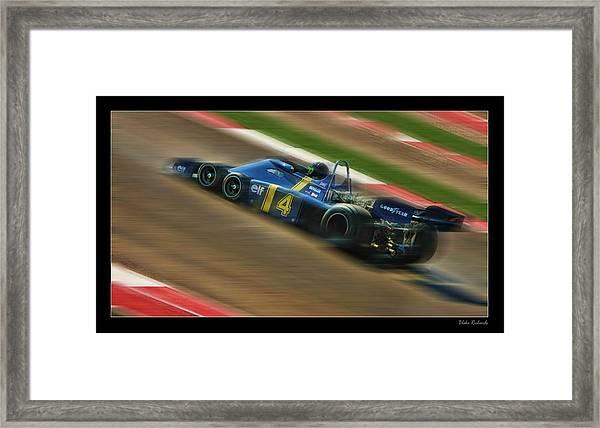 Patrick Depailler Framed Print