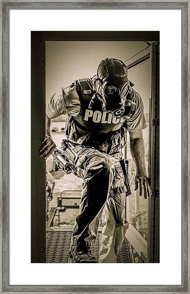 Patriot3 Second Floor Entry Framed Print