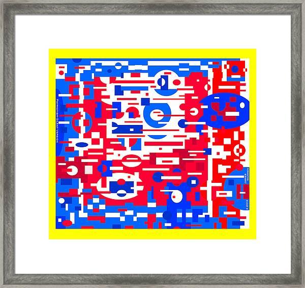Patriotism _ Silent Version 2013   Framed Print