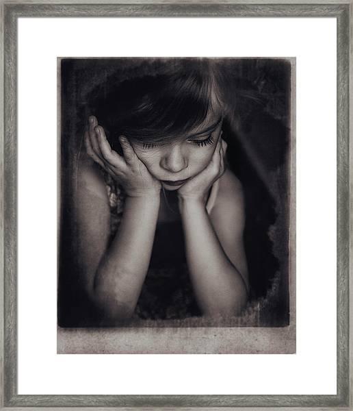 Paula Framed Print by Slavka Miklosova