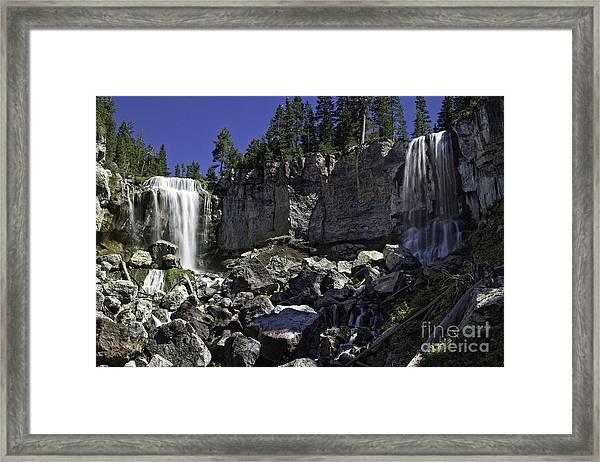 Paulina Falls Framed Print