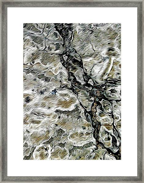 Pavement Framed Print