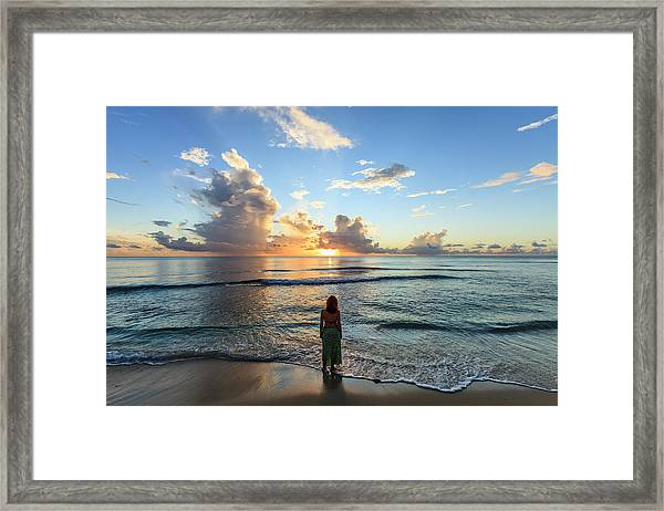 Paynes Bay, Barbados Framed Print