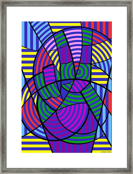 Peace 3 Of 12 Framed Print
