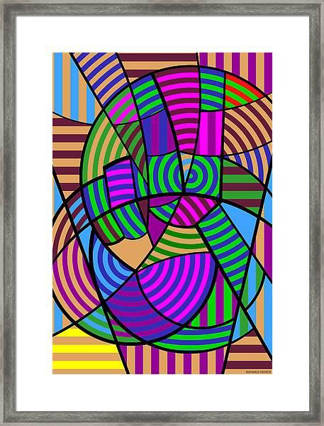 Peace 6 Of 12 Framed Print