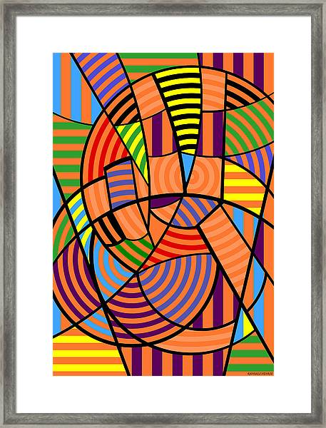 Peace 9 Of 12 Framed Print