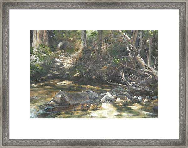 Peace At Darby Framed Print