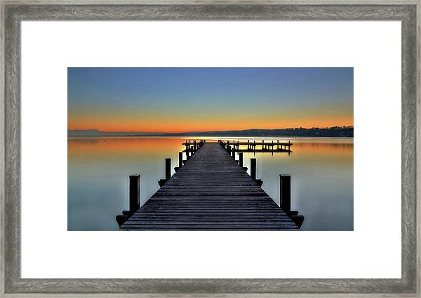 Peace Framed Print by Hans Peter Rank