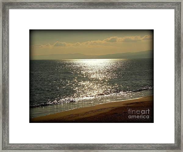 Peace Of Mind... Framed Print