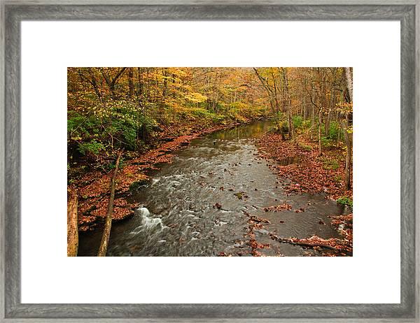 Peaceful Fall Framed Print