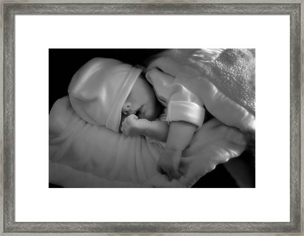 Peaceful Sleep Framed Print