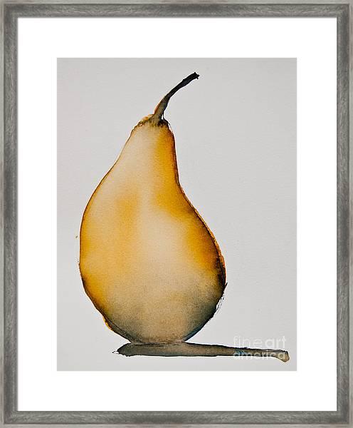 Pear Study Framed Print