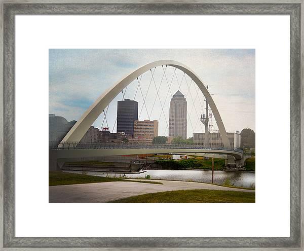 Pedestrian Bridge Framed Print
