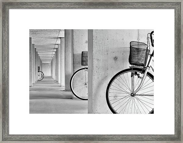 Peep Framed Print by Keisuke Ikeda @