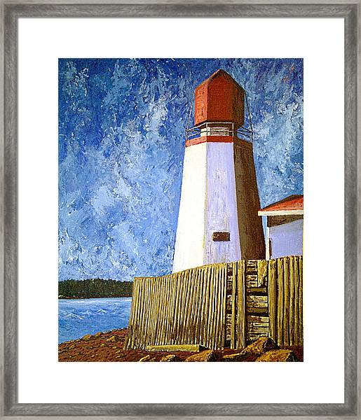 Pendlebury Lighthouse Framed Print