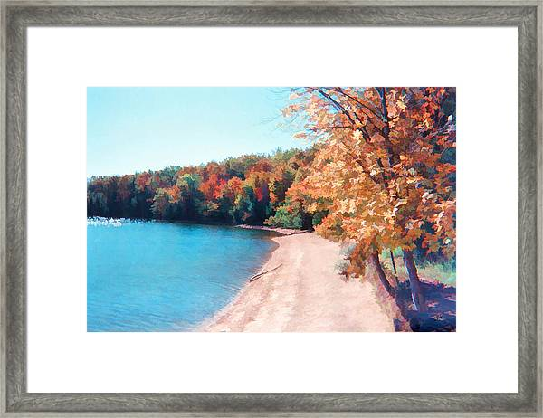Pennsylvania Autumn 001 Framed Print