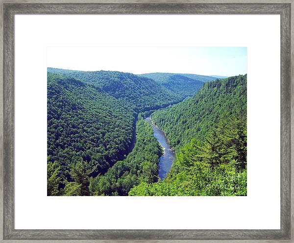 Pennsylvania Grand Canyon 2 Framed Print