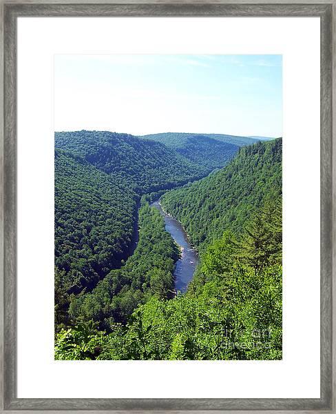 Pennsylvania Grand Canyon 3 Framed Print