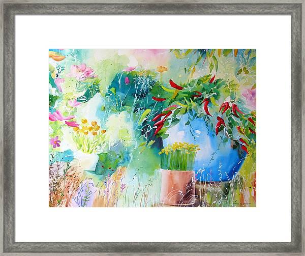 Pepper Pot Framed Print