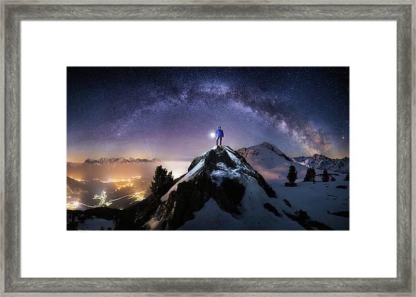 Per Aspera Ad Astra Framed Print
