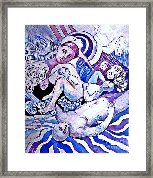 Perchance To Dream Framed Print