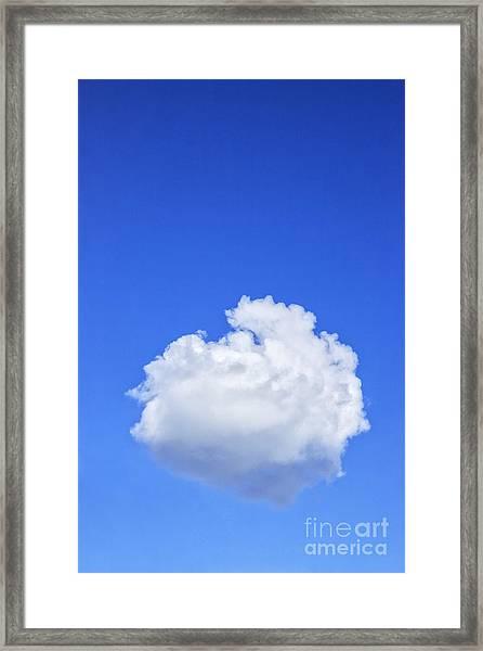 Perfect Cloud Framed Print