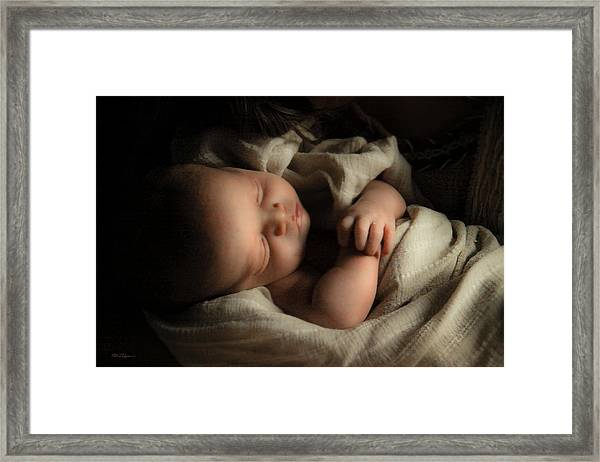 Perfect Lamb Framed Print