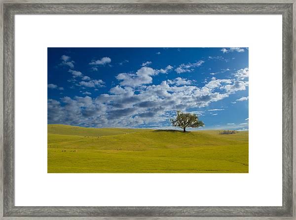 Perfect Landscape Framed Print
