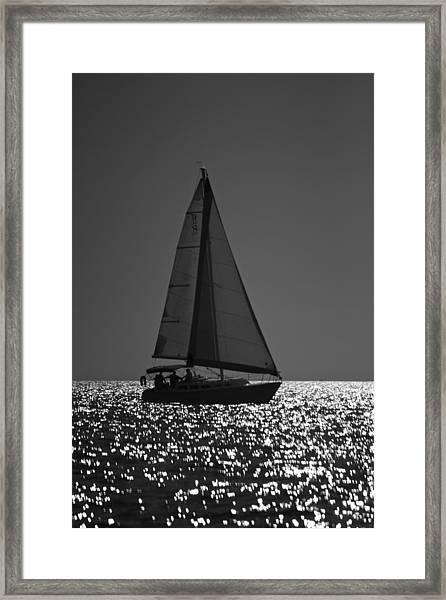 Perfect Sailing Framed Print