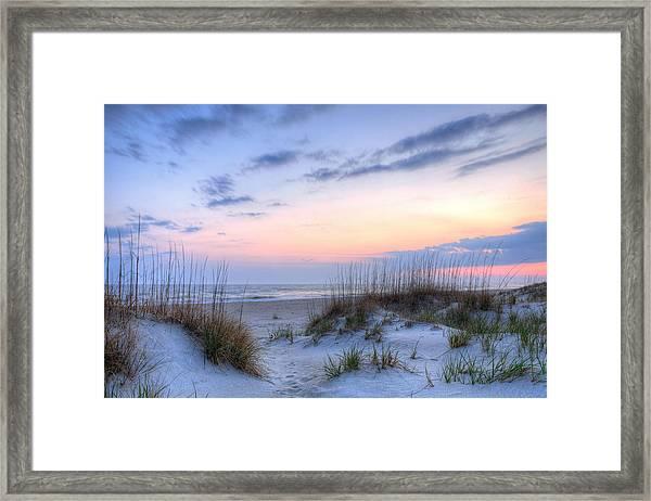 Perfect Skies Framed Print