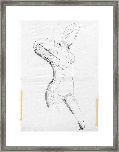 Perfume Of Venus - Homage Rodin Framed Print