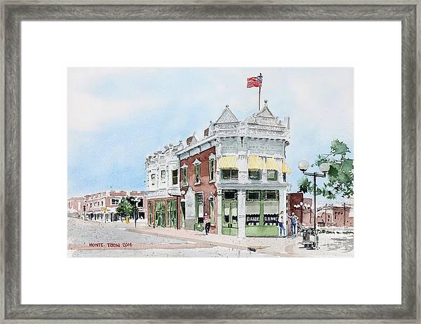 Perkins Building Framed Print