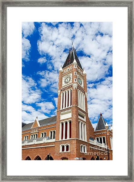Perth Town Hall Framed Print