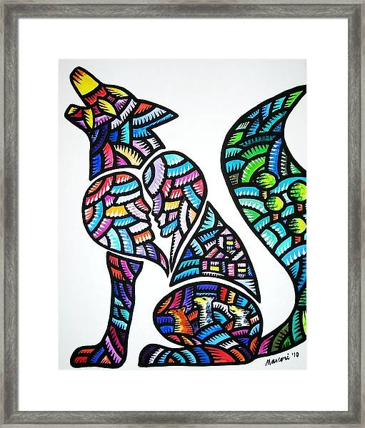 Pet For Love Framed Print