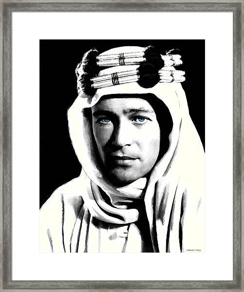 Peter O'toole Portrait Framed Print