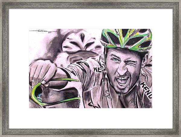 Peter Sagan Framed Print