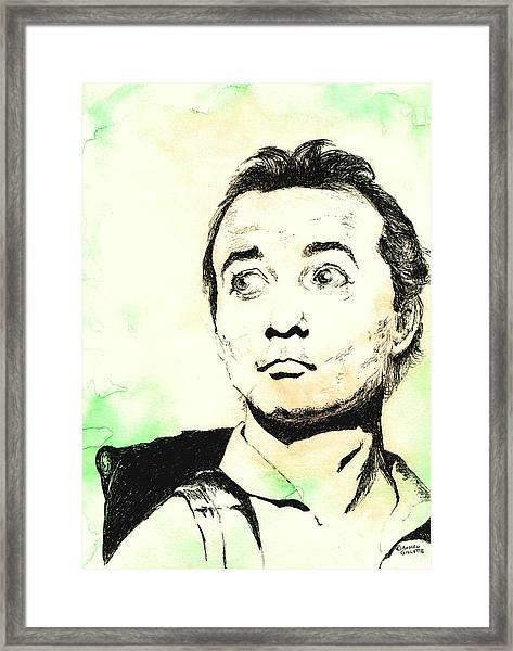 Peter Venkman Framed Print