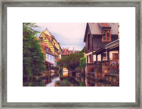 Petite Venise II Framed Print