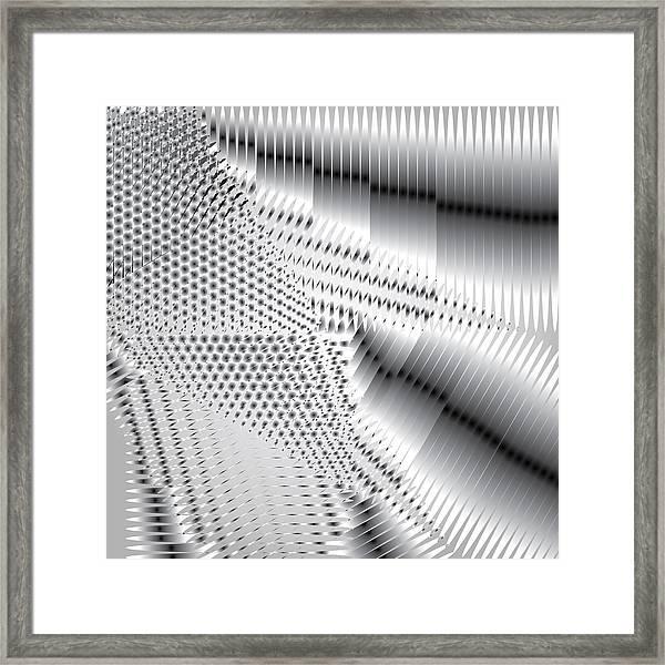 Phalanx 30 Shatter Framed Print