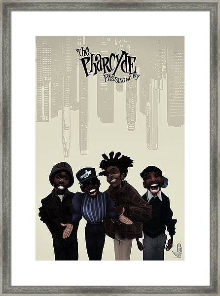 Pharcyde -passing Me By 1 Framed Print