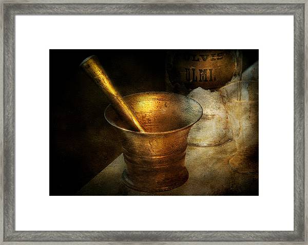 Pharmacist - The Pounder Framed Print