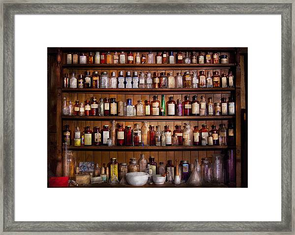 Pharmacy - Pharma-palooza  Framed Print