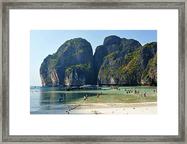 Phi Phi Island, Thailand Framed Print by Andrea Pistolesi