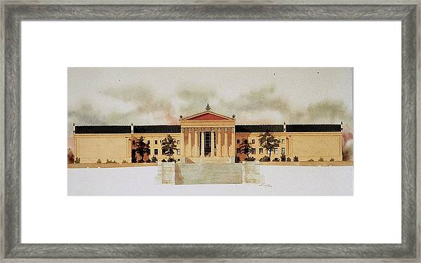 Philadelphia Art Museum Framed Print