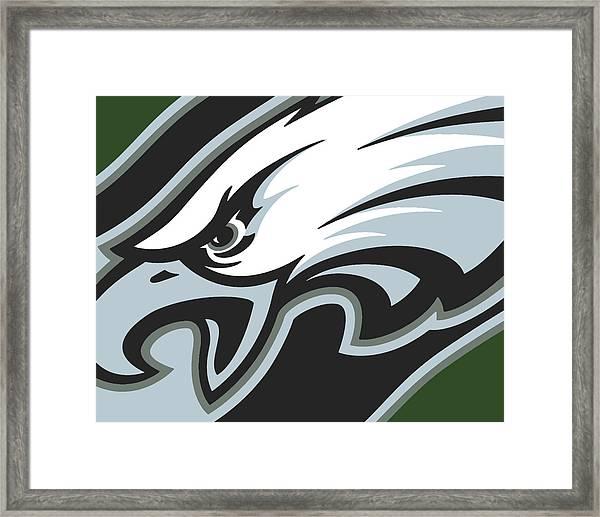Philadelphia Eagles Football Framed Print