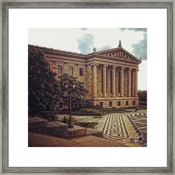 Philadelphia Museum Of Art Framed Print