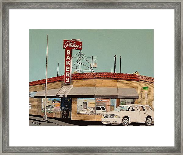 Philipp's Bakery No. 2 Framed Print by Paul Guyer
