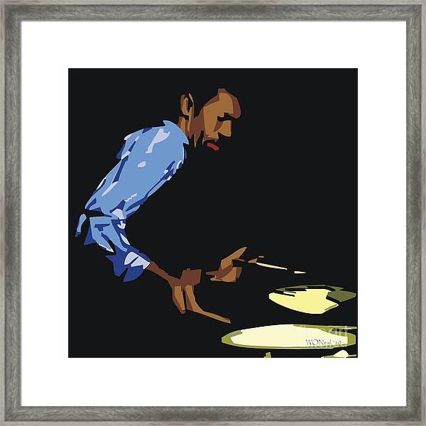Philly Joe Jones Framed Print