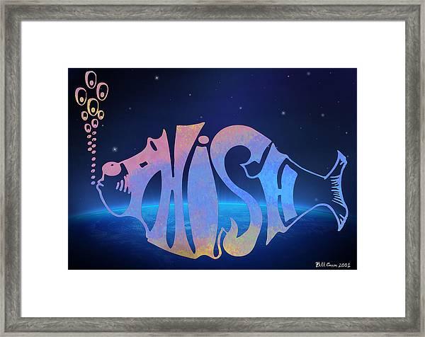 Phish Framed Print